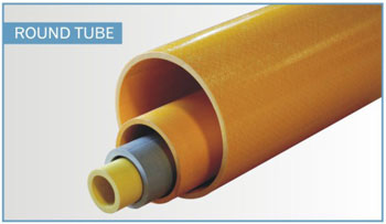 fiberglass structural shapes round tube